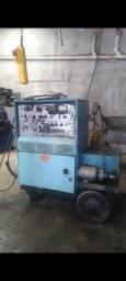 Título do anúncio: Máquina de solda alumínio inox Miller syncrowave 500