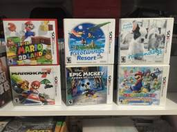 Título do anúncio: Jogos americanos de Nintendo 3DS