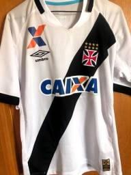 Camisa do Vasco Umbro 2015/16 + bandeira do Vasco
