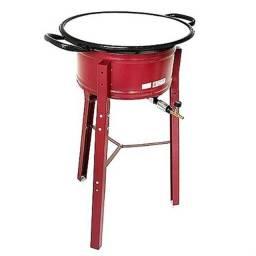 Título do anúncio: Fritadeira profissional NOVA, 6,5 litros, a gás de ALTA pressão, garantia. Entrega GRÁTIS*