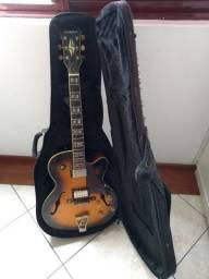 Guitarra semi acústica Condor Jc-16 c/ capa