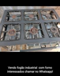 Título do anúncio: Fogão industrial com forno 6 chamas