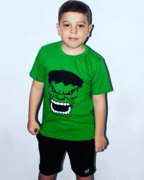 Camisas Infantil Personagens