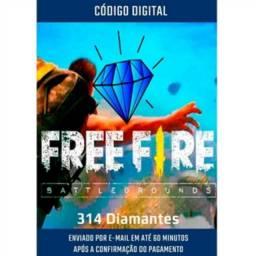 285 Diamantes + 10% Bonus - Garena Free Fire 110% bônus