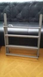 Estrutura em aço carbono para fogão industrial Metalmaq