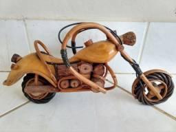 Moto artesanal 34 cm
