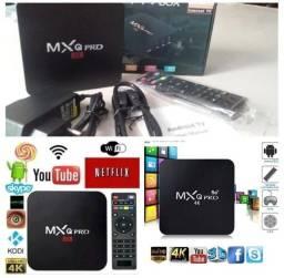Título do anúncio: Tv Box MxQ pro 5g