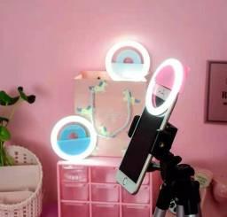 Mini Ring Light Luz Para SELFIE Celular Anel De Luz