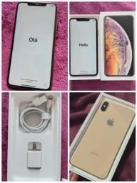 Título do anúncio: Iphone XS MAX 256gb GOLD