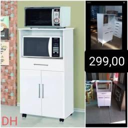 Balcão p forno e microondas