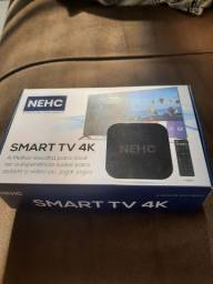 NEHC tv box 4k 2 gigas com 16 memoria