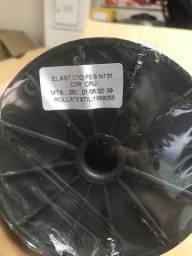 Elástico 4 mm em rolos de 250 metros - branco