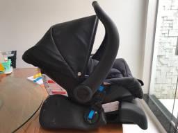 Bebê Conforto Cocoon + Base DRC Preto Galzerano