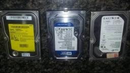 Vendo 3 HD De Computador 1 De 320 outro de 250 e outro de 80