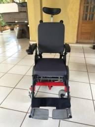 Cadeira de rodas elétrica, automática