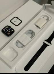 Apple Watch series 4 38mm de aço inoxidável