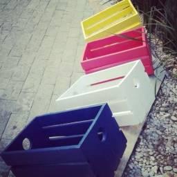 Caixote colorido