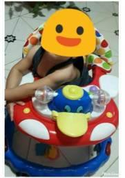 Andador + brinquedo atividades bebê