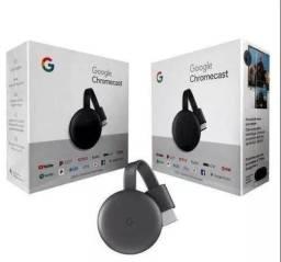 Chromecast 3 lacrado na caixa novo lacrado