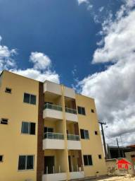 Apartamento com 2 suíts, 56 m² por R$ 125.000 - Timbozinho - Pacatuba/CE