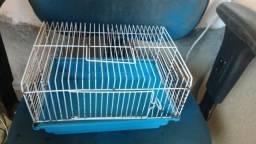 Gaiola de hamster pequena tbm tenho uma roda vendo individual