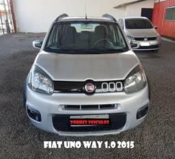 Fiat uno 2015, unica dona, financiamos até 60x - 2015