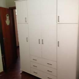 Conjunto quarto bebê (usado) - berço / mini cama - armário - trocador / escrivaninha