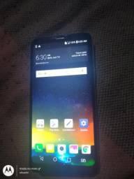 LG Q6 32 gb com NF zerado apenas marcas de uso na parte de trás