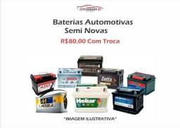 Baterias semi novas (Várias marcas e amperagens)