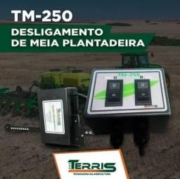 Desligamento de meia plantadeira TM-250 Terris Tecnologia