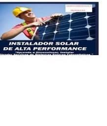 O melhor curso online de estalador solar de alta performace