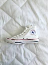 All Star Branco Cano Alto