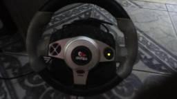 Volante para jogos automobilísticos