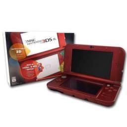New 3DS XL vermelho desbloqueado, usado comprar usado  Belem