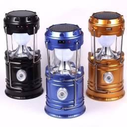 Lanterna LED recarregável tipo Lampião - Atacado