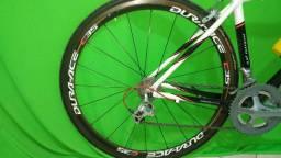 Rodas Dura-Ace carbono C35 Tubular