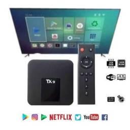 Tv box TX9 32gb 4 Ram Android 9 Quad Core Cortex-A53