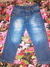Calça jeans infantil semi-nova