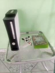 Xbox 360 fat troco em celular ler descrição comprar usado  Jaboatão dos Guararapes
