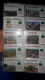 coleções de cartões telefônicos.