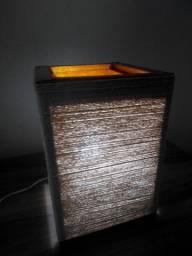 Luminária Artesanal WI-FI