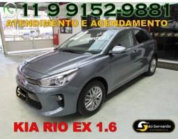 Kia Rio Ex 1.6 Flex Automatico - Ano 2020 - Apenas 586 Km Rodados