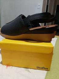 Calçado feminino Usaflex .Conforto