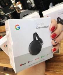 Google Chromecast 3 disponível pronta entrega