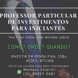 Professor Particular de Investimentos