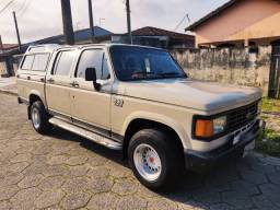 GM-Chevrolet D20 1987 Cabine Dupla motor Maxion S4T Diesel