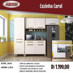 Linda Cozinha Portolar moveis com entrega em 3dias