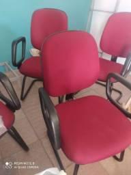 cadeiras de escritorio muito nova