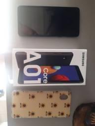 Vendo Samsung A01 na caixa e com NF