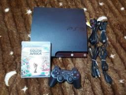 Título do anúncio: PS3 Slim 465GB